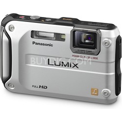 Lumix DMC-TS3 Silver Shockproof Freezeproof Dustproof Camera