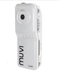 Muvi Turin Micro DV Camcorder (Ice White)