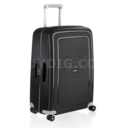 """S'Cure 28"""" Zipperless Spinner Luggage - Black"""