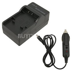 AC/DC Rapid battery charger for Olympus li50b, Nikon enel11,Sony BK1,Pentax li78