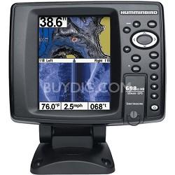 "698ci HD SI 5"" Color Screen GPS Sonar Combo Fish Finder"