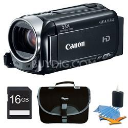 VIXIA HF R42 HD 53x Image Stabilized Opt Zoom Camcorder 32GB Internal + 16GB Kit