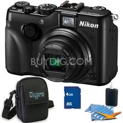 COOLPIX P7100 Digital Camera w/ 7.1x Zoom 4GB Bundle