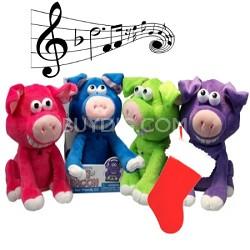 3112 DJ Bacon/Dancing Pig - Color May Vary
