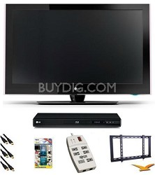 42LD520 - 42 inch 1080p 120Hz High Definition LCD TV Blu-Ray Bundle