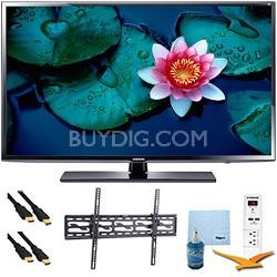 "50"" UN50H5203 Full HD Smart TV Clear Motion Rate 120 Tilt Mount & Hook-Up Bundle"