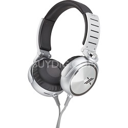MDRX05/BS X Headphone, Black/Silver