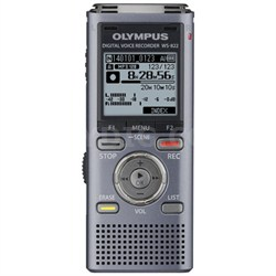 WS-822 Digital Voice Recorder, 4GB Gray - OPEN BOX