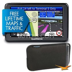 "nuvi 2595LMT 5"" GPS w/ Bonus Carry Case - Factory Refurbished w/ 1 year Warranty"