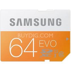 64GB EVO SDXC UHS 1 - Class 10 Memory Card - MB-SP64D/AM