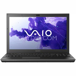 VAIO VPCSE13FX - 15.5 Inch Laptop Core i5-2430M Processor (Black)