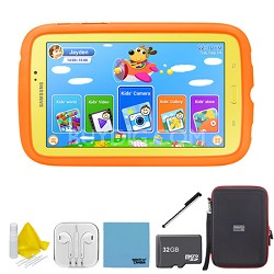 """Galaxy Tab 3 7.0"""" Kids Edition Plus 32 GB Accessory Bundle"""