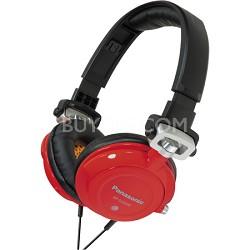 RP-DJS400-R DJ Street Model Headphones (Red)