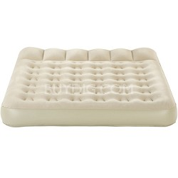 AeroBed Queen Sized Pillow Top Bed with rechargeable pump