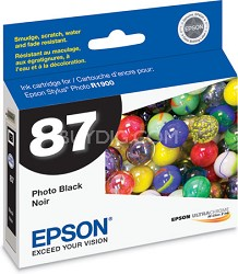 Black Ink Cartridge for the R1900