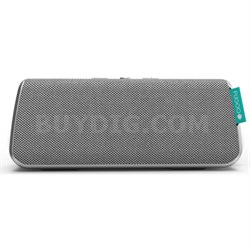 Style Portable Waterproof Speaker with Bluetooth - Silver (F6STSS01) - OPEN BOX