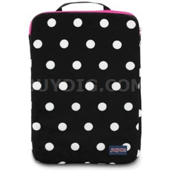 "15"" Laptop Sleeve - Plush Spots (T45E)"