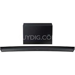 HW-J7500 - Curved 8.1 Channel 320 Watt Wireless Audio Soundbar (Black)