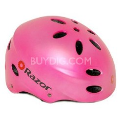 V17 Childrens Ages 5 - 8 Helmet - Satin Pink