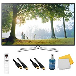 "UN65H6350 - 65"" HD 1080p Smart HDTV 120Hz with Wi-Fi Plus Hook-Up Bundle"