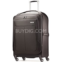 """MIGHTlight 25"""" Spinner Luggage - Charcoal"""