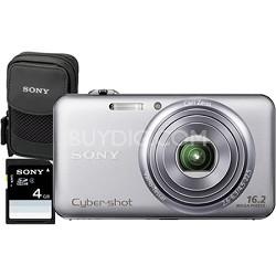 "DSC-WX70 - 16.2MP Exmor R CMOS Full HD Digital Camera 3.0"" LCD 5x Zoom (Silver)"