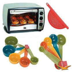 ETO-180 Elite Gourmet Toaster Oven Bundle