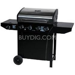 T480 - Four-Burner 48,000 BTU Gas Grill, with Sideburner