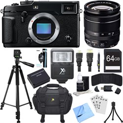X-Pro 2 Mirrorless X-Trans CMOS III Digital Camera w/ 18-55mm Zoom Lens Bundle