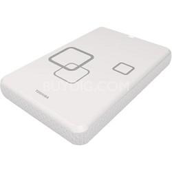 FOR MAC DS TS Infinite White 750GB Canvio USB 2.0 Portable External HDD