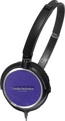 ATH-FC700APL Portable Headphones (Purple)