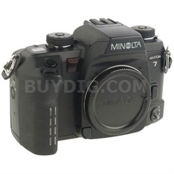 Maxxum 7 35mm SLR Camera Body (Lens Not Included) - OPEN BOX