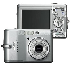 Coolpix L11 Digital Camera (Silver)