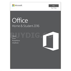 Office Mac Home Student2016 P2
