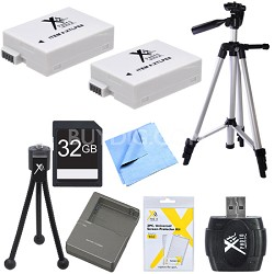 Ultimate LP-E8 Battery Bundle for Canon EOS T5I and T3I Digital Cameras