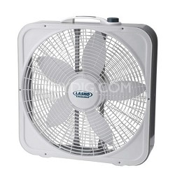 3743 20-inch Weather-Shield Premium Plus Box Fan - 3 Speed
