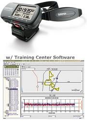 Forerunner 301 handheld GPS receiver w/ built-in antenna & Heart Monitor