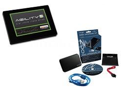Agility 4 - 512GB Internal Solid State Drive with Bonus OCZ Upgrade Kit