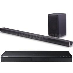 SH7B 4.1ch Wi-fi Sound Bar&Wireless Sub+UBD-K8500 4K Blu Ray