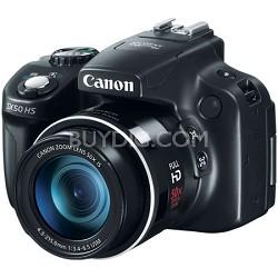 Powershot SX50 HS 12.1 MP Digital Camera - Black