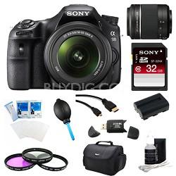Alpha SLT-A58K Digital SLR Camera 32 GB 55-200mm Lens Bundle