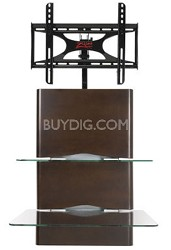 "Alta Wall Mounted Flat Panel TV Stand - Up to 42"" (Espresso)"