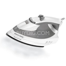 F976 Quickpress Iron with Smart Steam Technology and Stainless Steel Soleplate
