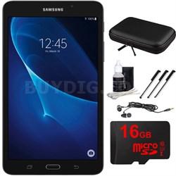 "Galaxy Tab A Lite 7.0"" 8GB Tablet PC (Wi-Fi) Black 16GB microSD Accessory Bundle"