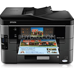 WorkForce 840 Inkjet All-in-One Wi-Fi Printer - C11CA97201