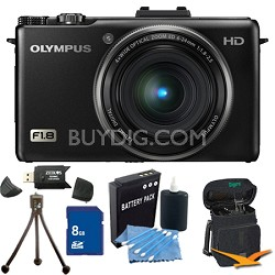 XZ-1 10MP f1.8 Lens Black Digital Camera 8GB Kit