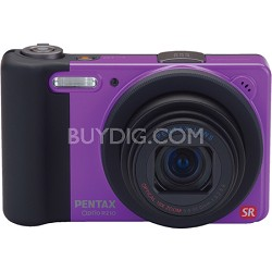 Optio RZ10 Digital Camera with 720p HD Video - Violet