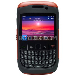 RBB4-8500S-45-C5OTR - Red and Black Commuter Case for Blackberry 8520 8530