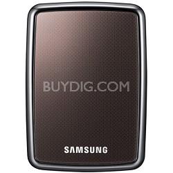 HX-MU064DA/G22 - HDD S2 Portable External 640 GB Hard Drive (Black)
