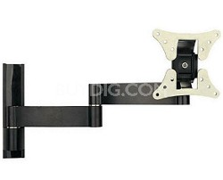 "Universal Articulating Arm Mount for Flat Panel TVs 10"" to 22"" TVs"